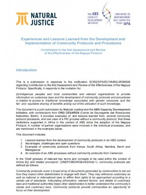 first-assessment-and-review-of-the-effectiveness-of-the-nagoya-protocol-cbd